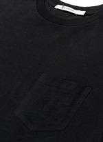 Side split hem T-shirt