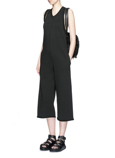 T BY ALEXANDER WANG French terry culottes jumpsuit