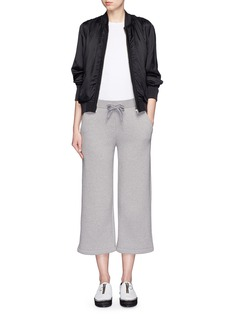 T BY ALEXANDER WANG Fluid twill bomber jacket