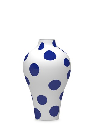 Main View - Click To Enlarge - ART LAVIE - Polka dot pattern vase