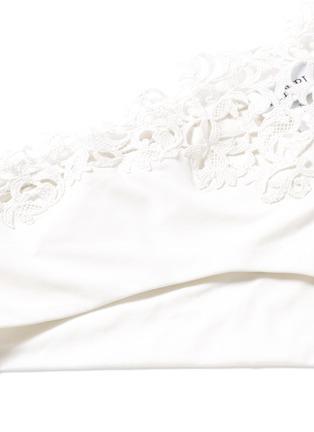 Detail View - Click To Enlarge - La Perla - 'Petit Macramé' lace boyshort briefs