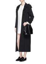 'Brianna' keyhole front flare dress