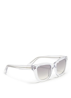 VALENTINO Inlaid Rockstud acetate sunglasses