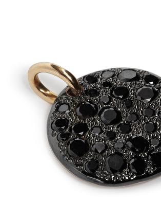 Pomellato-'Sabbia' black diamond rose gold pendant