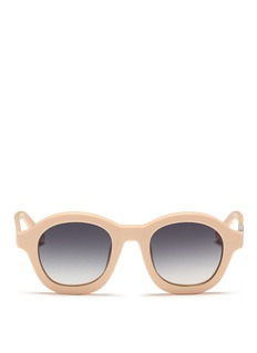 3.1 PHILLIP LIM x Linda Farrow thick acetate sunglasses