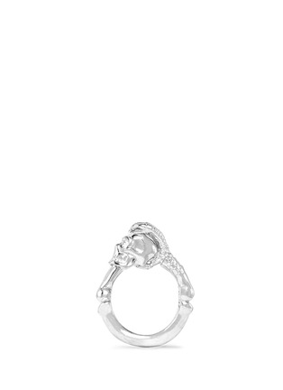 Main View - Click To Enlarge - Alexander McQueen - Skull claw ring