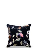 Midnight Garden Large Cotton Velvet Cushion