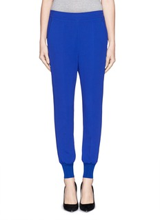 STELLA MCCARTNEY Stretch Cady jogging pants
