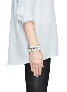 ALEXANDER MCQUEENAcorn leather bracelet