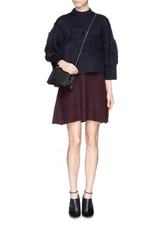 3.1 PHILLIP LIM Angora blend panel wool sweater