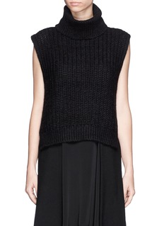 3.1 PHILLIP LIM Sleeveless turtleneck knit top