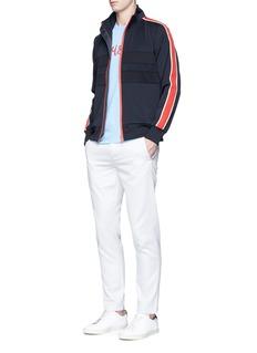 PS by Paul SmithContrast stripe jersey track jacket