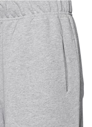Detail View - Click To Enlarge - Lndr - 'Street' embroidered logo cotton French terry shorts