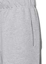 'Street' embroidered logo cotton French terry shorts