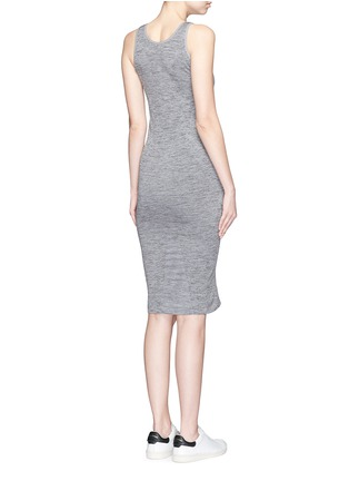 Back View - Click To Enlarge - LNDR - 'Body' circular knit dress