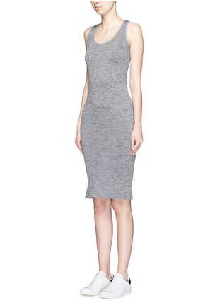 Front View - Click To Enlarge - LNDR - 'Body' circular knit dress
