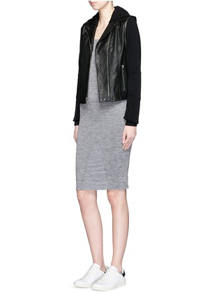 Figure View - Click To Enlarge - LNDR - 'Body' circular knit dress