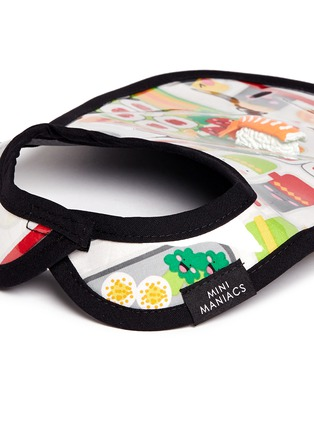 Detail View - Click To Enlarge - Mini Maniacs - 'Bento Box' sushi bib