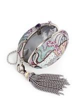 'Egg Fantasia' crystal pavé minaudière