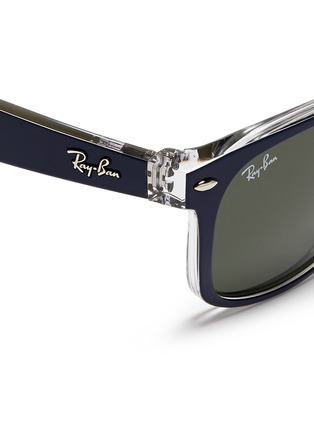 Detail View - Click To Enlarge - Ray-Ban - 'New Wayfarer Colour Mix' matte plastic sunglasses