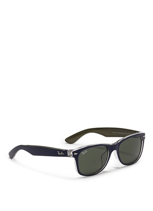 Figure View - Click To Enlarge - Ray-Ban - 'New Wayfarer Colour Mix' matte plastic sunglasses
