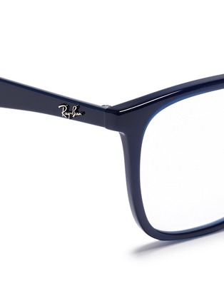 Detail View - Click To Enlarge - Ray-Ban - 'RB7066' acetate square optical glasses