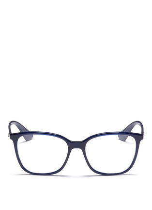 Main View - Click To Enlarge - Ray-Ban - 'RB7066' acetate square optical glasses
