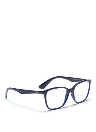 Figure View - Click To Enlarge - Ray-Ban - 'RB7066' acetate square optical glasses