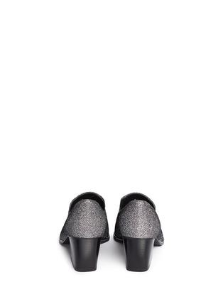 Back View - Click To Enlarge - Stuart Weitzman - Razmataz' tassel glitter loafers