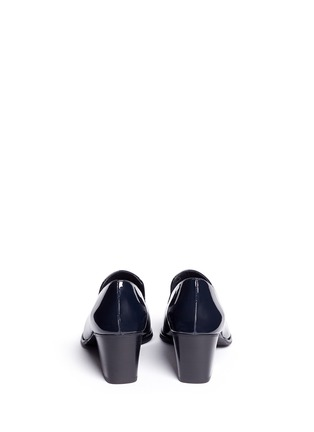 Back View - Click To Enlarge - Stuart Weitzman - 'Razmataz' tassel patent leather loafers