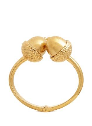 Main View - Click To Enlarge - Alexander McQueen - Double acorn brass bracelet
