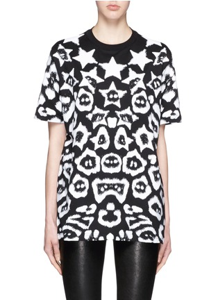 Main View - Click To Enlarge - Givenchy - Star jaguar print oversize T-shirt