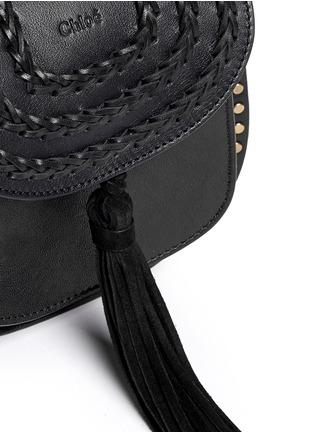 - Chloé - 'Hudson' mini stud braided leather bag