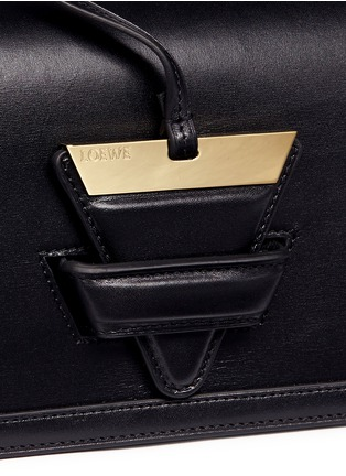 Detail View - Click To Enlarge - Loewe - 'Barcelona' calfskin leather shoulder bag