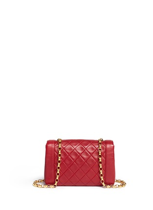 Back View - Click To Enlarge - Vintage Chanel - Quilted leather shoulder bag
