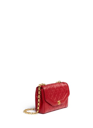Figure View - Click To Enlarge - Vintage Chanel - Quilted leather shoulder bag
