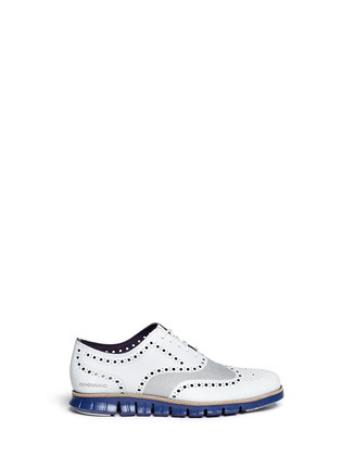 Main View - Click To Enlarge -  - ZeroGrand No Stitch' mesh Oxfords