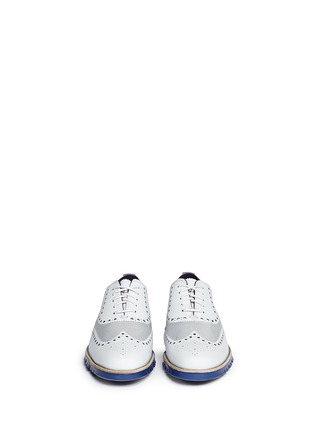 Figure View - Click To Enlarge -  - ZeroGrand No Stitch' mesh Oxfords