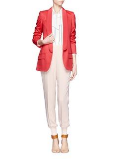 STELLA MCCARTNEYTriple shawl lapel tuxedo jacket