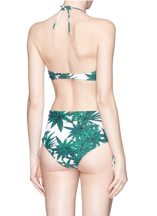 Back View - Click To Enlarge - Mara Hoffman - 'Harvest' underwired bandeau bikini top