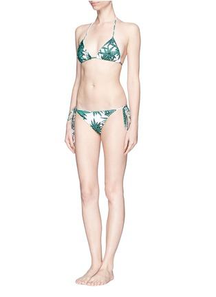 模特儿示范图 - 点击放大 - MARA HOFFMAN - 'Harvest' triangle bikini top