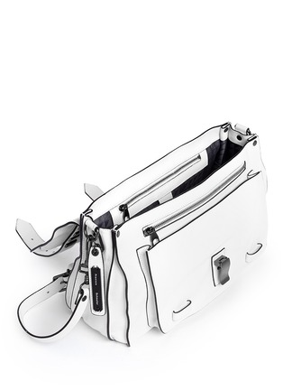 Detail View - Click To Enlarge - Proenza Schouler - 'PS1' medium stud leather satchel