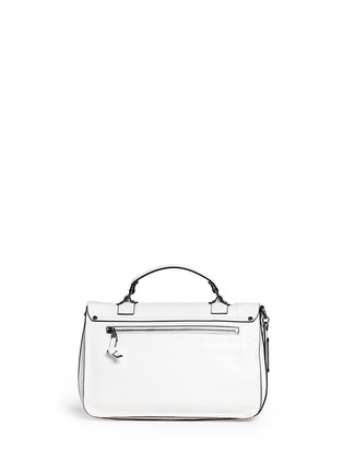 Back View - Click To Enlarge - Proenza Schouler - 'PS1' medium stud leather satchel