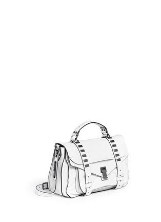 Figure View - Click To Enlarge - Proenza Schouler - 'PS1' medium stud leather satchel