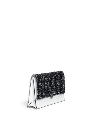 Figure View - Click To Enlarge - Proenza Schouler - Interwoven leather small lunch bag
