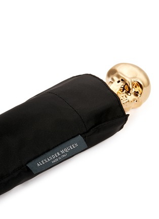 细节 - 点击放大 - ALEXANDER MCQUEEN - Skull handle collapsible umbrella