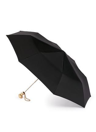 模特儿示范图 - 点击放大 - ALEXANDER MCQUEEN - Skull handle collapsible umbrella