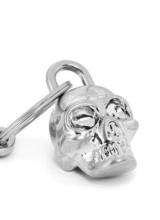 Detail View - Click To Enlarge - Alexander McQueen - Skull padlock keyring