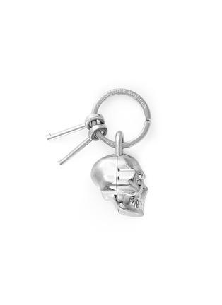 Main View - Click To Enlarge - Alexander McQueen - Skull padlock keyring