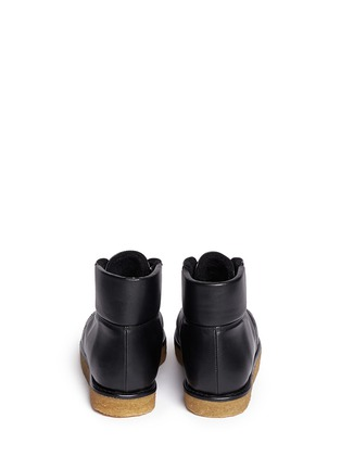 Back View - Click To Enlarge - Stella McCartney - 'Brompton' quilted ankle boots